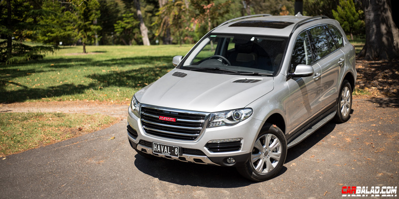 Haval H8 Front