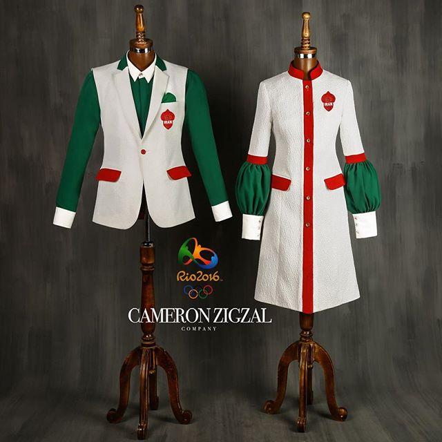 طرح لباس المپیک ایران