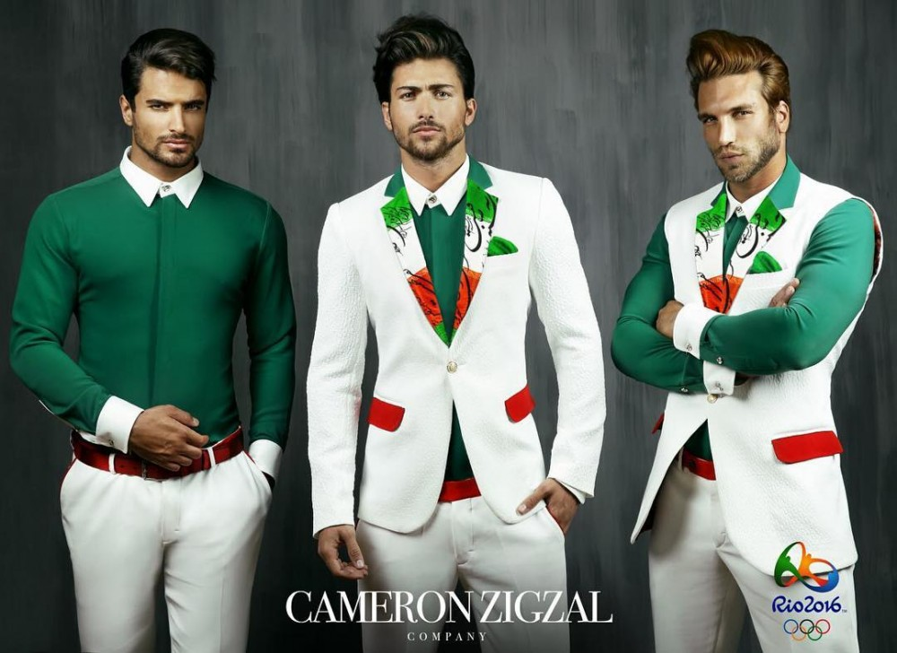 جدیدترین طرح لباس تیم المپیک ایران