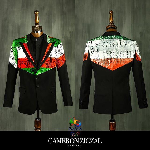 لباس المپیک ایران- طرح پیشنهادی