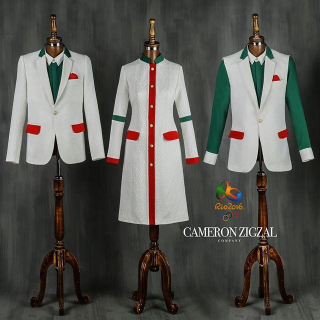 لباس نهایی المپیک تیم ایران در ریو